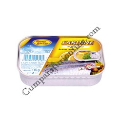 Sardine in ulei vegetal Home Garden 110 gr.