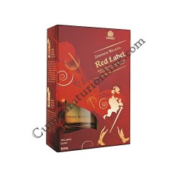 Scotch Whisky Johnny Walker Red 40% 0,7l. 2 pahare