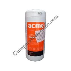 Servetele umede curatat TFT/LCD ACME 100 buc.