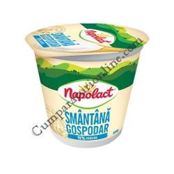 Smantana Napolact Gospodar 15% grasime 175 gr.