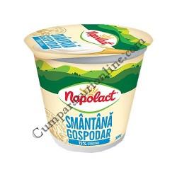Smantana Napolact Gospodar 15% grasime 300 gr.