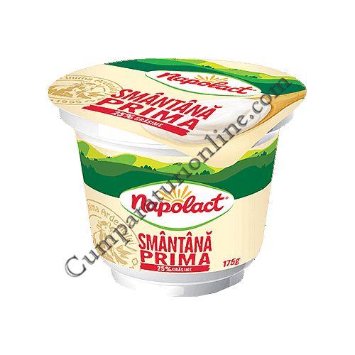 Smantana Napolact Prima 25% grasime 175 gr.