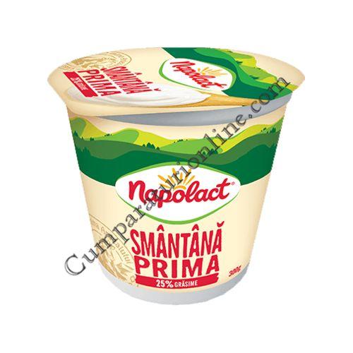 Smantana Napolact Prima 25% grasime 300 gr.