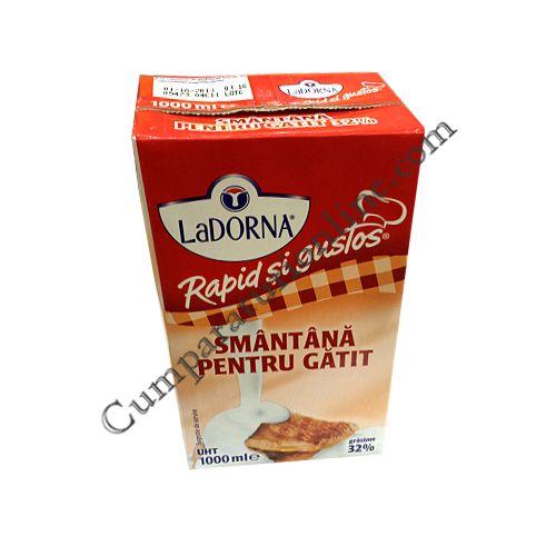 Smantana pentru gatit LaDorna 32% grasime 1l.