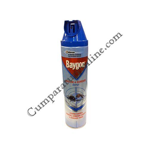 Spray muste si tantari Baygon 400 ml.