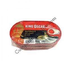 Sprot afumat in ulei King Oscar 170 gr.