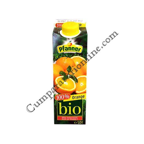 Suc portocale 100% Pfanner 1l. BIO