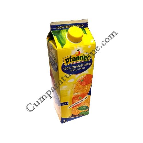 Suc portocale pulpa 100% Pfanner 2L