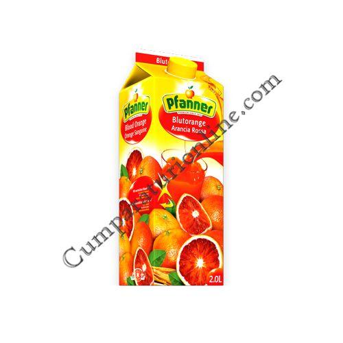 Suc portocale rosii 40% Pfanner 2l.