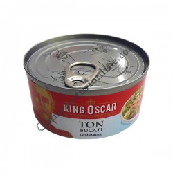 Ton bucati in saramura King Oscar 185gr.