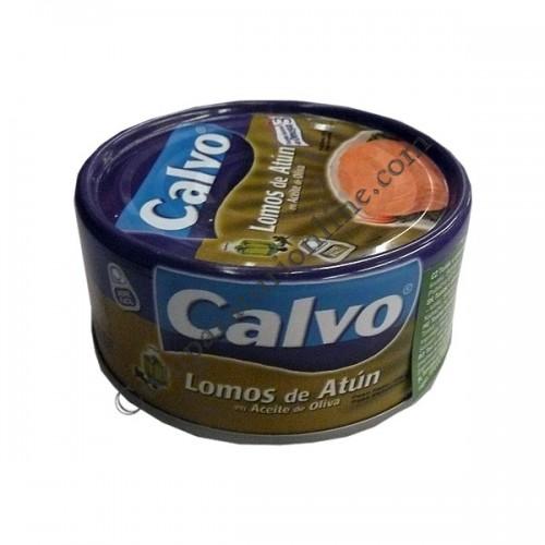 Ton bucati in ulei de masline Calvo 160gr.