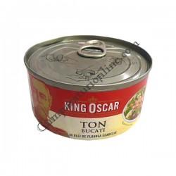 Ton bucati in ulei King Oscar 185gr.
