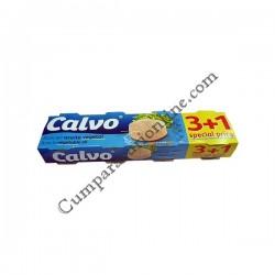 Ton in ulei vegetal Calvo 3x80gr.