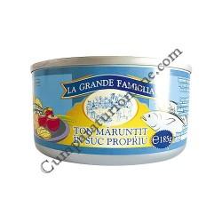 Ton maruntit in suc propiu La Grande Famiglia 4x170 gr. pret/buc