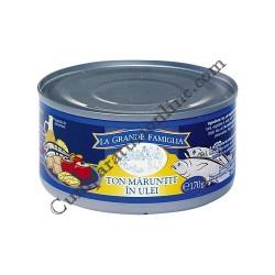 Ton maruntit in ulei La Grande Famiglia 4x150 gr. pret/buc.