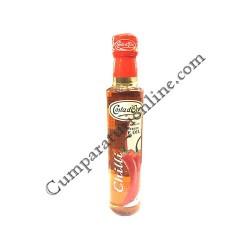 Ulei masline extravirgin aroma chilli Costa D`oro 250 ml.