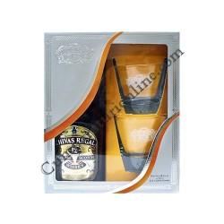 Whisky Chivas Regal 12 ani 40% 0,7l. 2 pahare