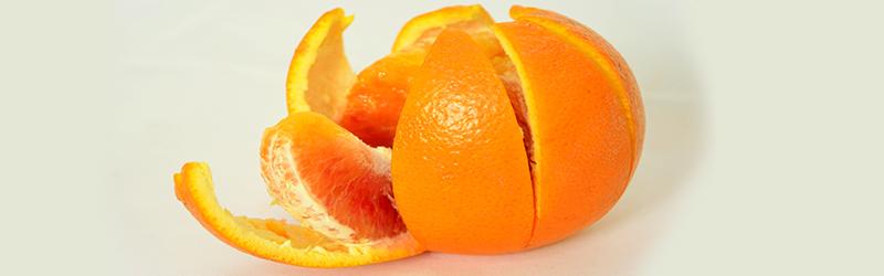 Cum sa tai o portocala