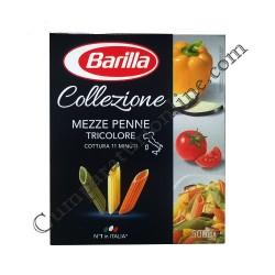 Mezze penne tricolore Barilla 500 gr.