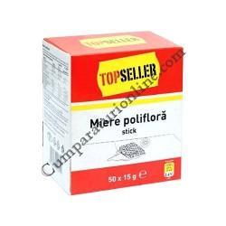Miere poliflora Top Seller pliculete 50x15 gr.