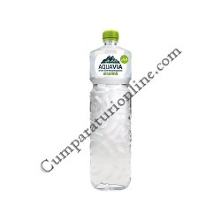 Apa de izvor natural alcalina AquaVIA 9.4 pH, 2 l.
