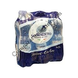 Apa minerala carbogazoasa San Benedetto 0,5l
