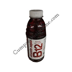 Apa plata cu vitamine B12 Vitamin Aqua 600 ml. Apple&Rasberry