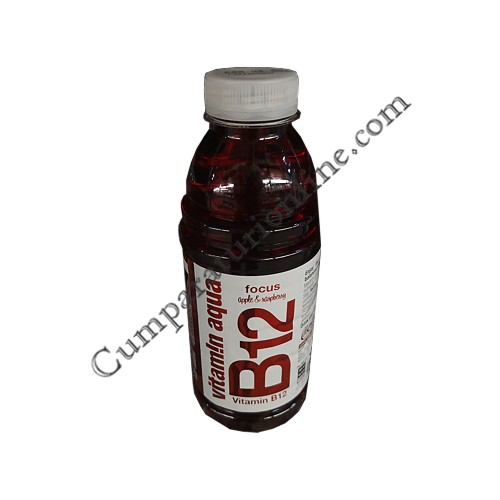 Apa plata cu vitamine B12 Vitamin Aqua 600 ml. Apple&Rasberry