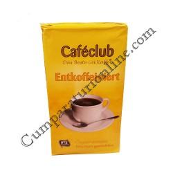 Cafea decofeinizata macinata Cafeclub 500 gr.