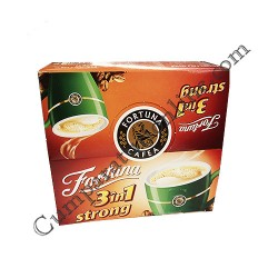 Cafea solubila Fortuna 3in1 Strong 24x15,2 gr.