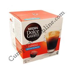 Nescafe Dolce Gusto Caffe Lungo Decaffeinato 16 doze