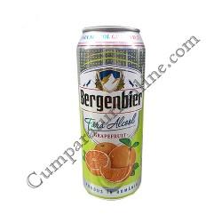 Bere fara alcool cu suc de grapefruit Bergenbier Fresh doza 0,5l.