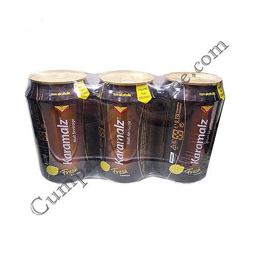 Bere fara alcool cu suc de lamaie Karamalz 3x0,33l. pret/buc.