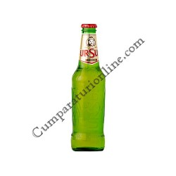 Bere Ursus Premium sticla 6x0,33l. pret/buc.