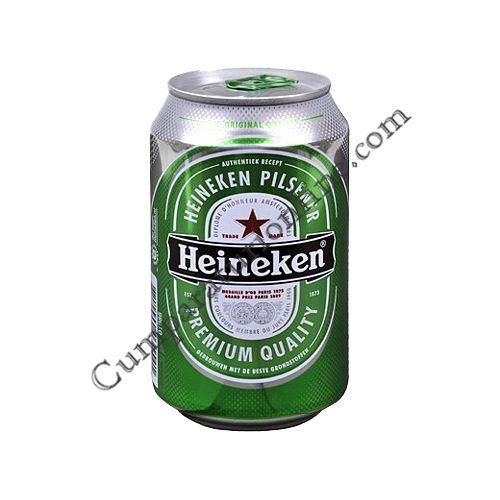 Bere Heineken doza 0,33 l.