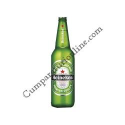 Bere blonda Heineken 0,66l.