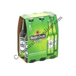 Bere Heineken sticla 6x0,33 l.