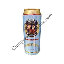 Bere nefiltrata fara alcool doza Apostel 0,5 l.