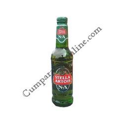 Bere Stella Artois fara alcool 0,33 l sticla