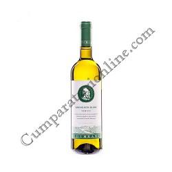 Vin alb Budureasca Sauvignon Blanc demisec 0,75l.
