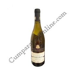 Vin alb Domeniile Samburesti Chardonnay sec 750 ml.