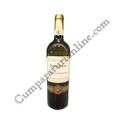 Vin alb Domeniul Coroanei Segarcea Prestige Tamaioasa Romaneasca sec 0,75l.