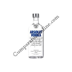 Vodca 40% Absolut Vodka Blue 0,5l.