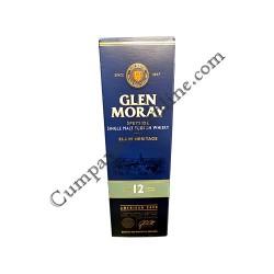 Scotch Whisky Glen Moray 12 ani Single Malt 40% 0.7l. cutie