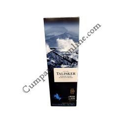 Scotch Whisky Talisker 10 ani Single Malt 45,8% 0.7l. cutie
