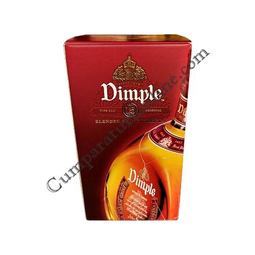 Whisky Dimple 15 ani 40% 0,7l. cutie