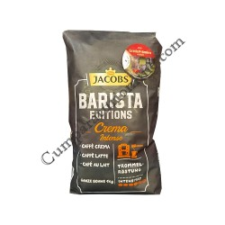 Cafea boabe Jacobs Barista Crema Intense 1 Kg.