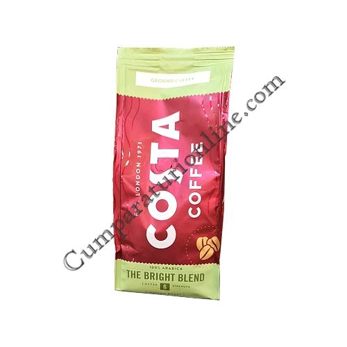 Cafea macinata Costa Bright Blend 200 gr.