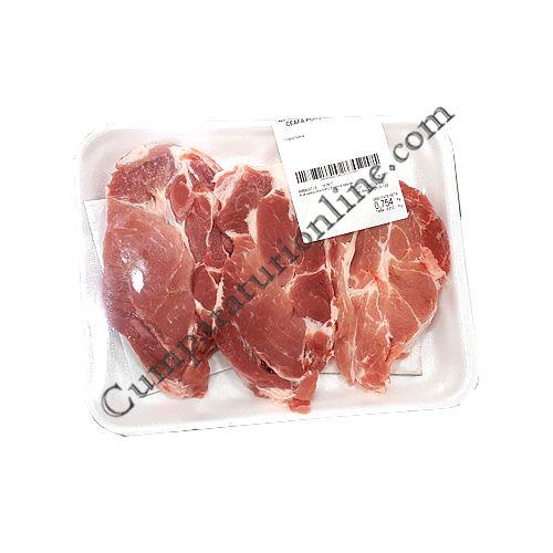 Ceafa porc dezosata feliata tavita pret/kg.