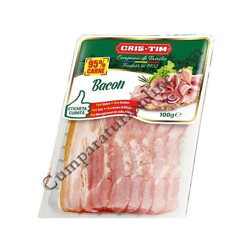 Bacon feliat Cris-Tim 100 gr.